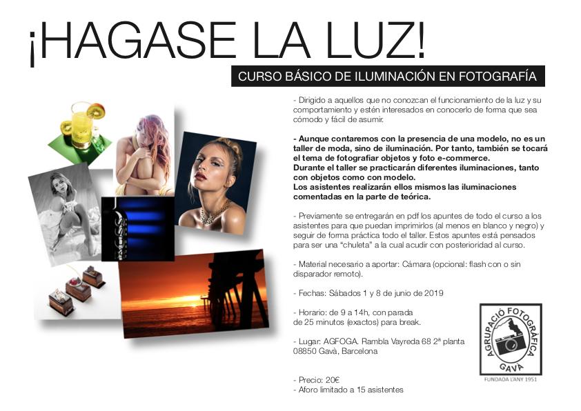 """Curso básico iluminación """"Hagase La Luz"""""""