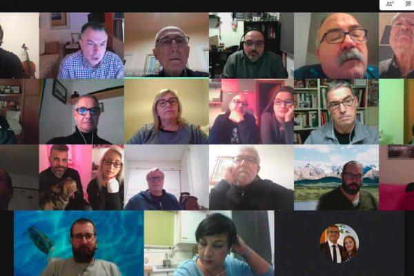 Videoconferencia de socios