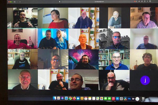 Segunda reunión virtual de socios
