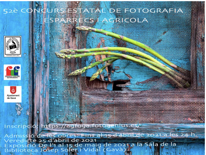 """52º CONCURSO NACIONAL DE FOTOGRAFIA «ESPARRECS I AGRICOLA"""""""