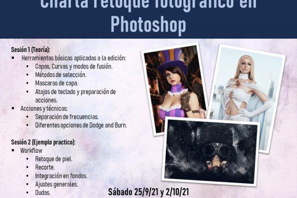 Charla de retoque fotográfico en Photoshop